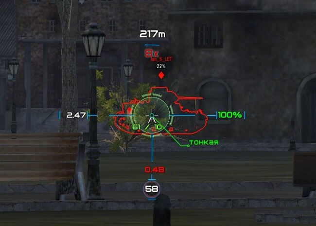 wot reticle mods