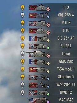 Garage XVM + Tank Nation & Icons [1 5 1 1] | WoT mods