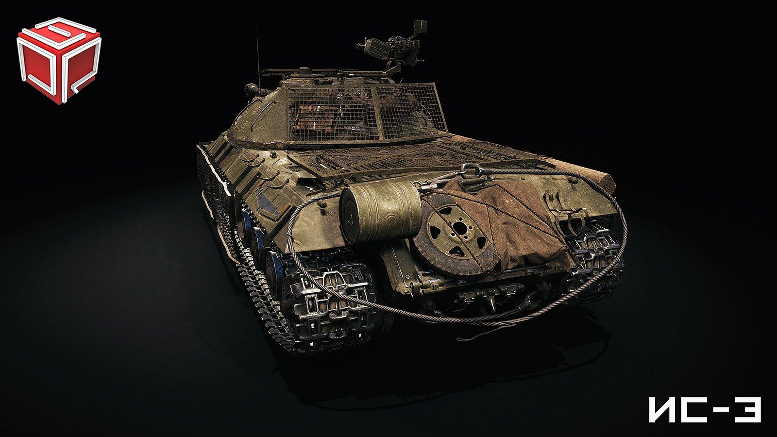 Ремоделинг ИС-3