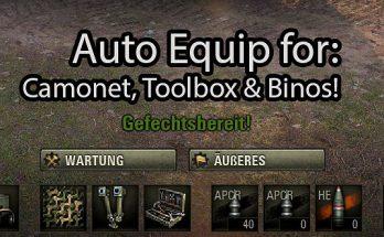 Auto Equip Mod