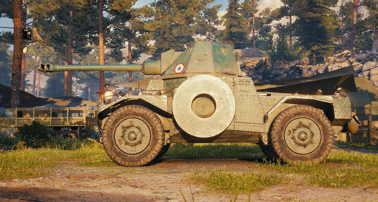 Classic's Panhard AMD 178B Turret/Gun Swap (Simple Remodel)