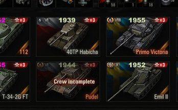 Hawg's Tanks History Carousel