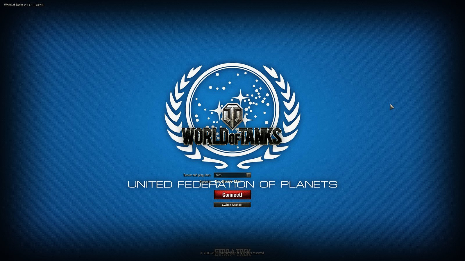 United Federation of Planets Loading Screen