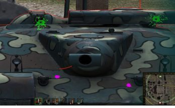Hawg's ColorBlind Paint Ball Damage
