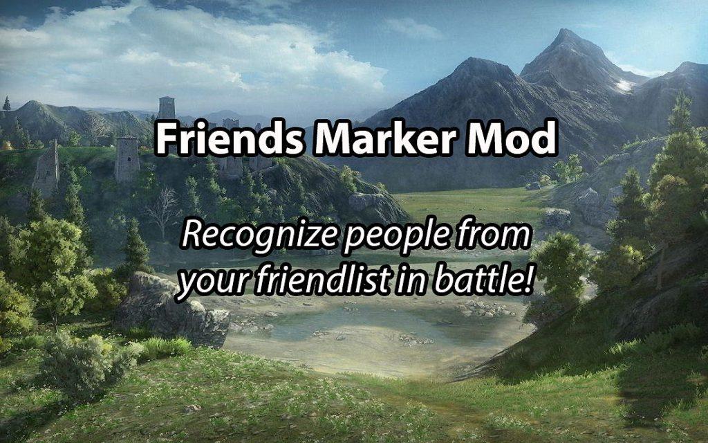Friends Marker Mod