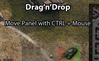 Tank Info Panel Mod