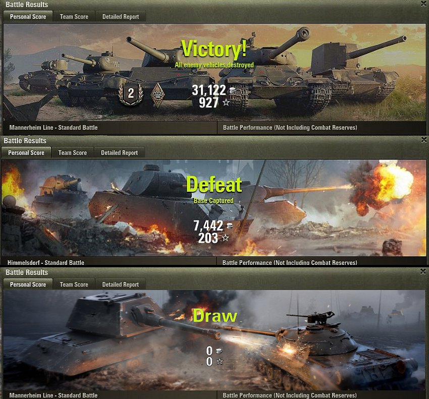 Hawg's Tank Invasion Battle Results