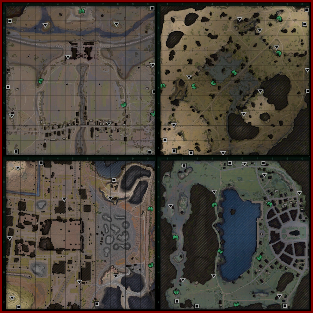 Tactical Battle MiniMaps