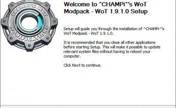 CHAMPi's WoT Mods Installer
